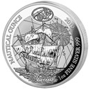 2019 Rwanda 1 oz Silver Nautical Ounce Victoria Proof