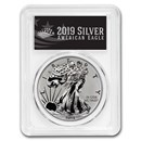 2019-S Enhanced Reverse Proof Silver Eagle PR-70 PCGS (FD, Black)