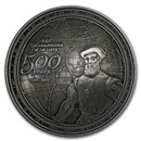 2019 Samoa Silver 500th Anniv. Circumnavigation Earth Dome Coin