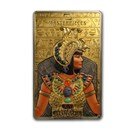 2019 Solomon Island Proof Silver/Gold Cleopatra (Abrasion)
