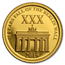 2019 Solomon Islands 1/2 Gram Gold 30 Years Fall of Berlin Wall