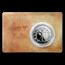 2019 Solomon Islands 1 oz Silver Leonardo da Vinci: Vitruvian Man
