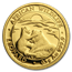 2019 Somalia 1/2 gram Gold African Wildlife Leopard BU