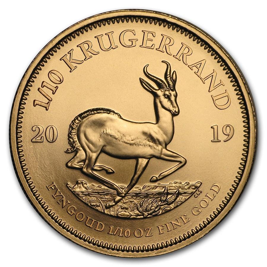 2019 South Africa 1/10 oz Gold Krugerrand
