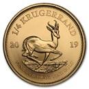 2019 South Africa 1/4 oz Gold Krugerrand