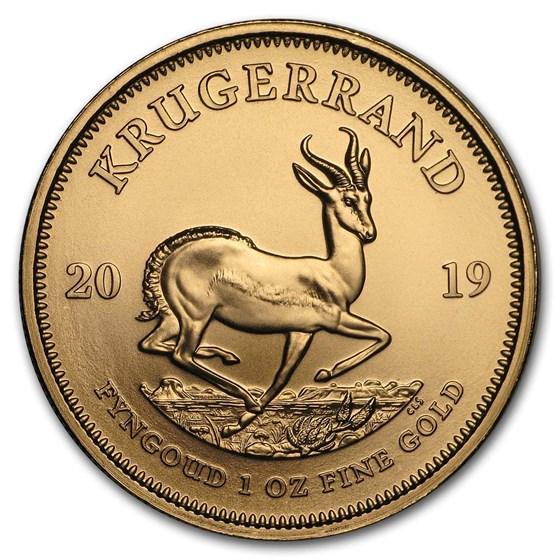 2019 South Africa 1 oz Gold Krugerrand BU