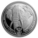 2019 South Africa 1 oz Platinum Big Five Elephant Proof