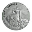 2019 South Korea 1 oz Silver Chiwoo Cheonwang BU