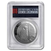 2019 South Korea 1 oz Silver Chiwoo Cheonwang PR-70 PCGS (FS)