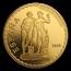 2019 Spain Proof Gold €100 Prado Bicentenary: Castor & Pollux