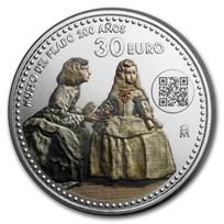 2019 Spain Silver €30 Prado Bicentenary: Las Meninas
