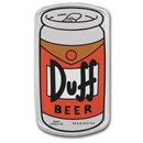 2019 Tuvalu 1 oz Silver The Simpsons: Duff Beer Proof