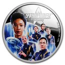 2019 Tuvalu 2 oz Silver Star Trek Discovery Proof