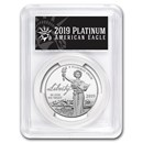 2019-W 1 oz Platinum Eagle PR-70 PCGS (FirstStrike®, Black Label)