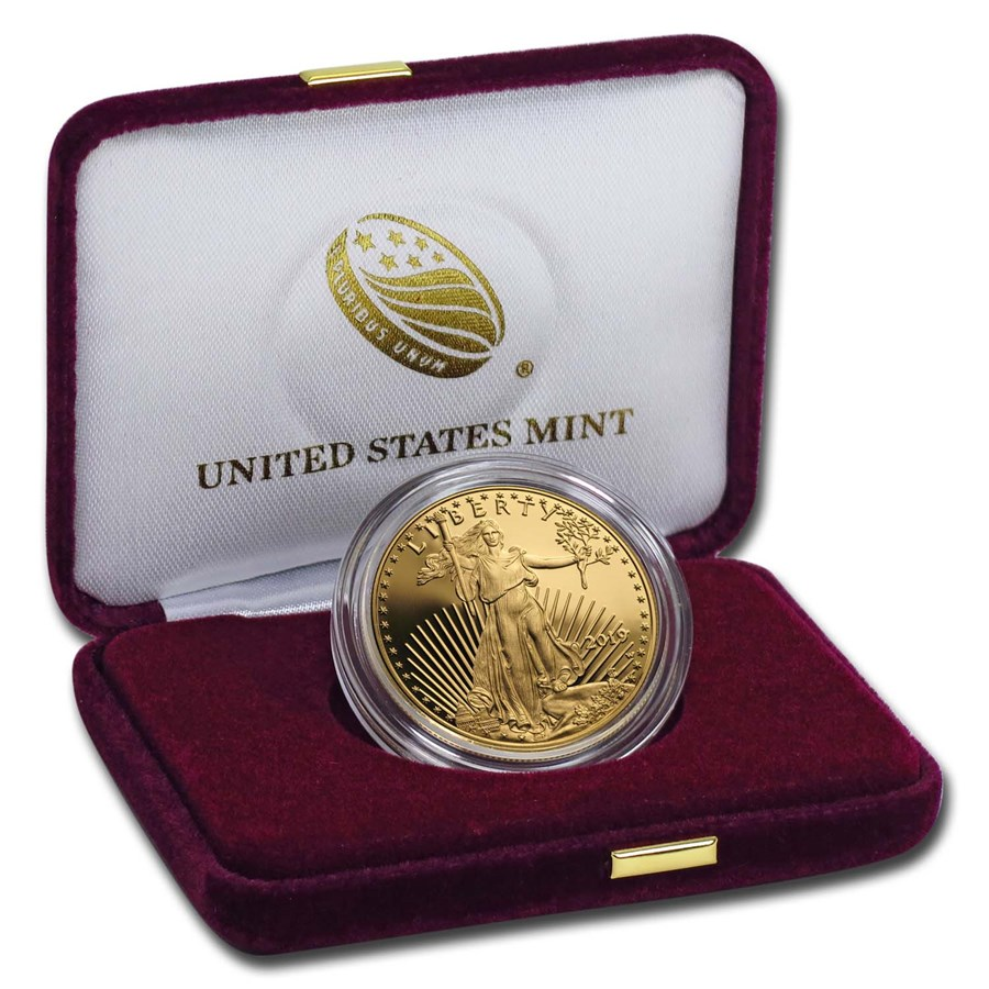 2019-W 1 oz Proof American Gold Eagle (w/Box & COA)