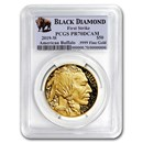 2019-W 1 oz Proof Gold Buffalo PR-70 PCGS (FS, Black Diamond)