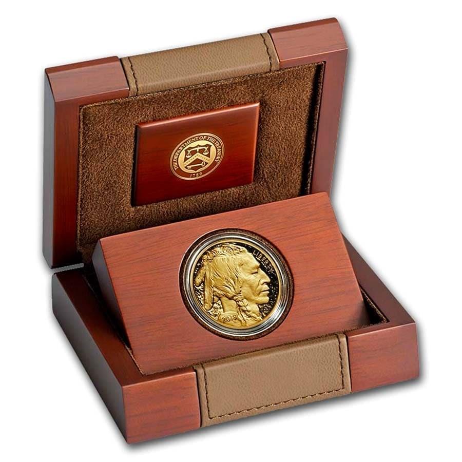 2019-W 1 oz Proof Gold Buffalo (w/Box & COA)