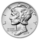 2019-W 1 oz Reverse Proof American Palladium Eagle (w/Box & COA)