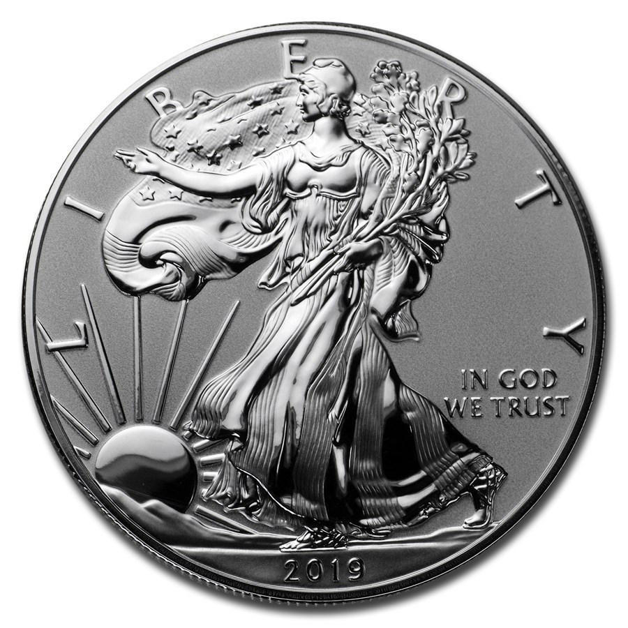 2019-W 1 oz Silver American Eagle Enhanced Proof (Capsule Only)