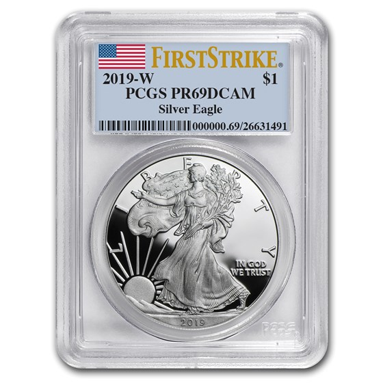 2019-W American Silver Eagle PR-69 PCGS (FirstStrike®)