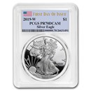 2019-W American Silver Eagle PR-70 PCGS (First Day of Issue)