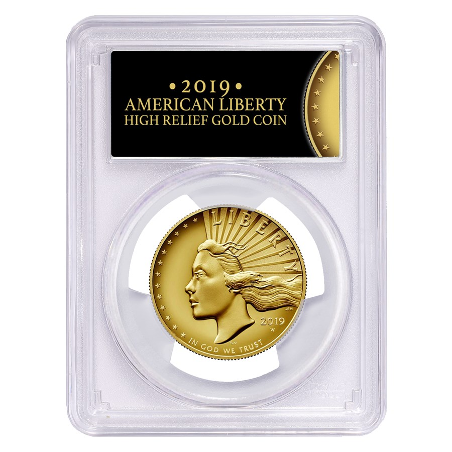 2019-W High Relief American Liberty Gold SP-70 PCGS (FS)
