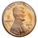 2019-W Lincoln Cent Proof (Red)