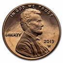 2019-W Lincoln Cent Reverse Proof (Red)