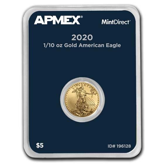 2020 1/10 oz American Gold Eagle (MintDirect® Single)
