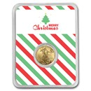 2020 1/10 oz Gold American Eagle - Merry Christmas (Tree)