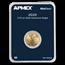 2020 1/10 oz Gold American Eagle (MintDirect® Single)