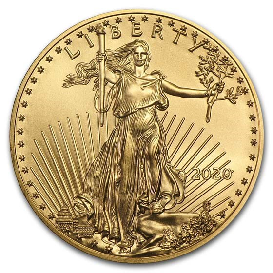 2020 1/2 oz American Gold Eagle BU