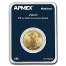 2020 1/2 oz Gold American Eagle (MintDirect® Single)
