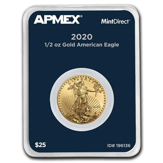 2020 1/2 oz Gold American Eagle (MintDirect® Single)