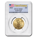 2020 1/2 oz Gold American Eagle MS-69 PCGS (FirstStrike®)