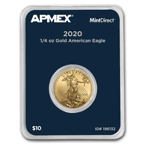 2020 1/4 oz American Gold Eagle (MintDirect® Single)