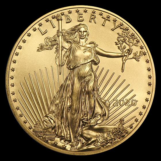 2020 1/4 oz Gold American Eagle BU