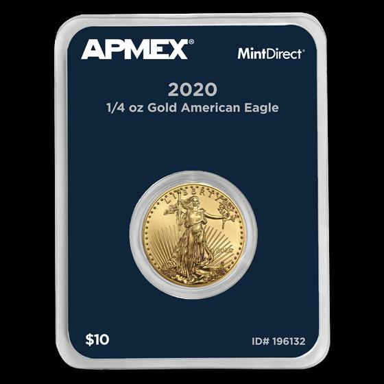 2020 1/4 oz Gold American Eagle (MintDirect® Single)