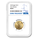 2020 1/4 oz Gold American Eagle MS-69 NGC (Early Releases)