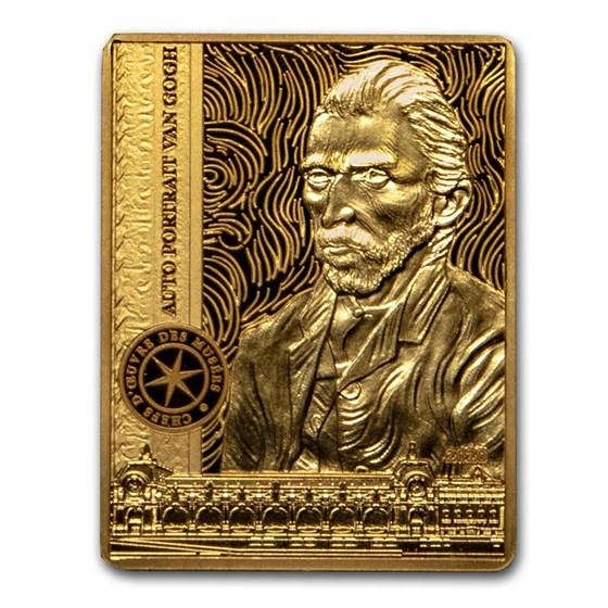 2020 1/4 oz Prf Gold €50 Masterpieces of Museums (Self-Portrait)