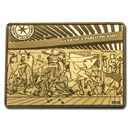 2020 1/4 oz Proof Gold €50 Masterpieces of Museums (Guernica)