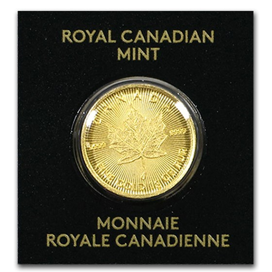 2020 1 gram Gold Maple Leaf - Maplegram 25™ (In Assay)