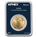 2020 1 oz American Gold Eagle (MintDirect® Single)