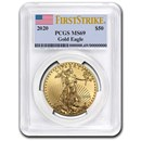 2020 1 oz American Gold Eagle MS-69 PCGS (FirstStrike®)