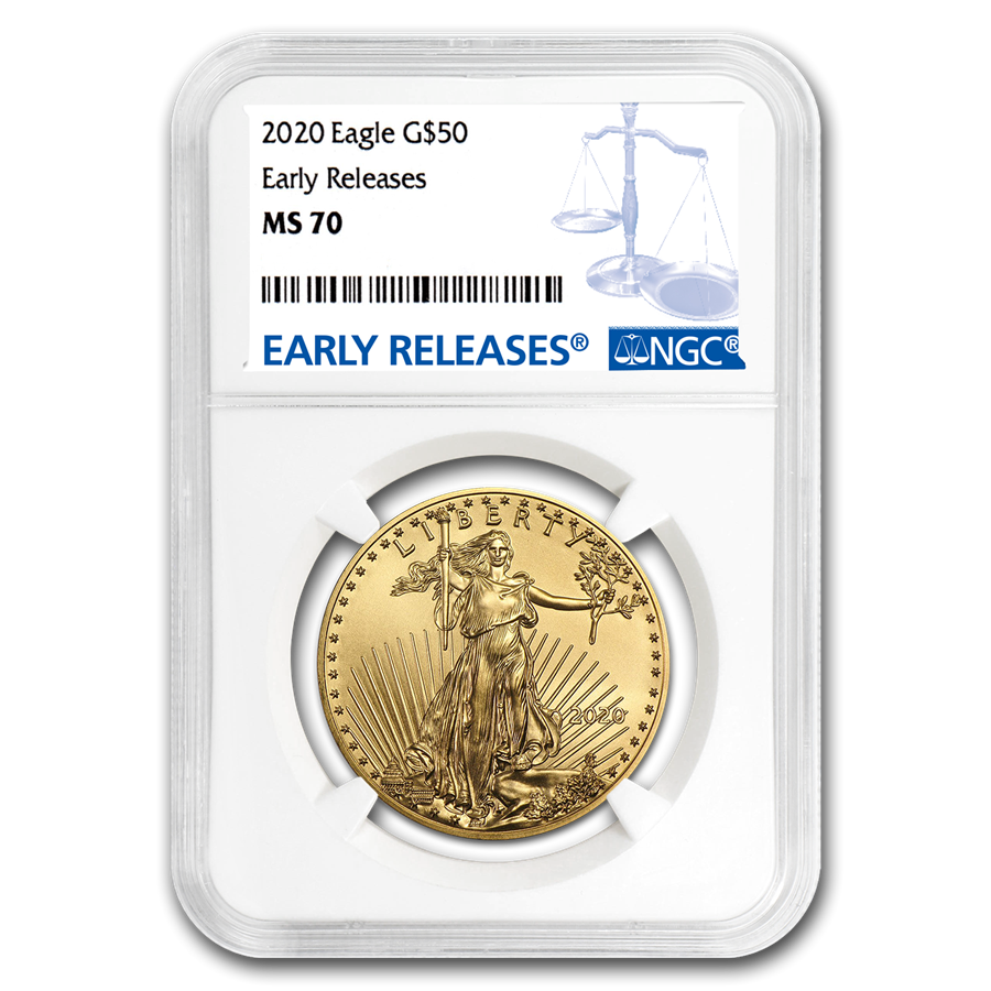 2020 1 oz American Gold Eagle MS-70 NGC (Early Releases)