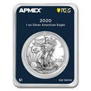 2020 1 oz American Silver Eagle (MD Premier + PCGS FS Single)