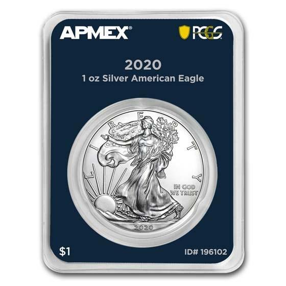 2020 1 oz American Silver Eagle (MD Premier + PCGS FS Single)