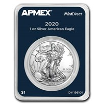 2020 1 oz American Silver Eagle (MintDirect® Single)