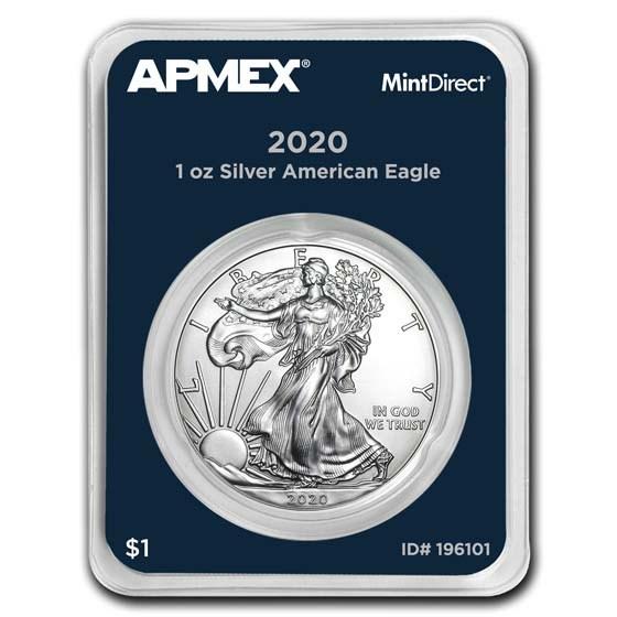 2020 1 oz American Silver Eagle (MintDirect® Single)