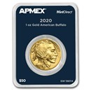 2020 1 oz Gold Buffalo (MintDirect® Single)